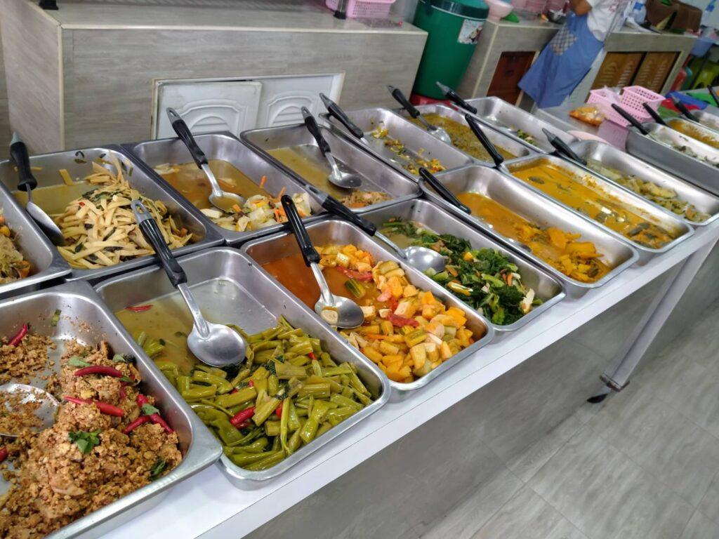 プーケットベジタリアンフェスティバルの食堂