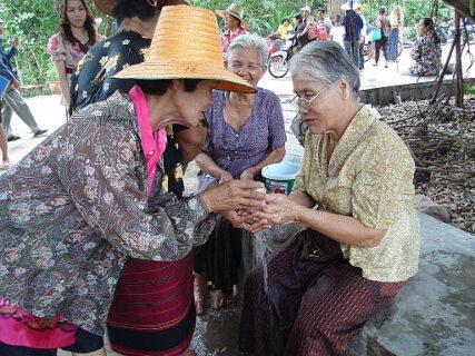 ソンクランの儀式