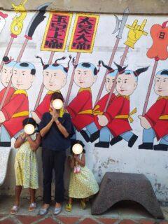 プーケットタウンの中国寺院