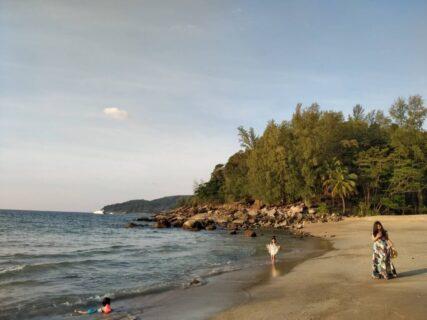 プーケットのシークレットビーチバナナビーチ