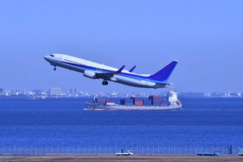 日本からタイへの船便イメージ