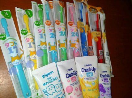 日本の歯ブラシ